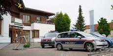Deutscher überfiel Bank in Ried