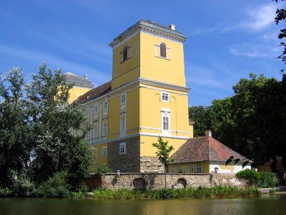 Das Schloss in Wolkersdorf