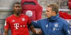 So reagiert Bayern-Coach Flick auf das Alaba-Aus