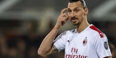 Schwer verletzt! Ibrahimovic droht das Karriere-Ende