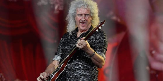 Brian May, Gitarrist der legendären Rock-Gruppe Queen