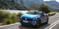 Ein SUV für den Sommer: Das neue VW T-Roc Cabrio