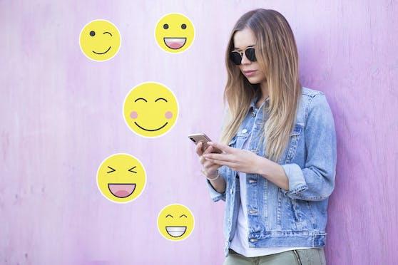 Welche Emojis sollte man zum Flirten über Chat verwenden, welche besser nicht?