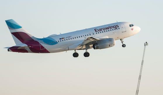 Eine Eurowings-Maschine musste aufgrund eines peinlichen Fehlers umkehren.