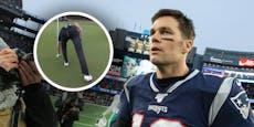 NFL-Star Tom Brady reißt beim Golfen die Hose