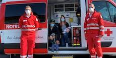 Kleiner Finn kam im Rettungsauto auf die Welt