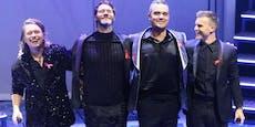 Take That geben Wohnzimmer-Konzert mit Robbie