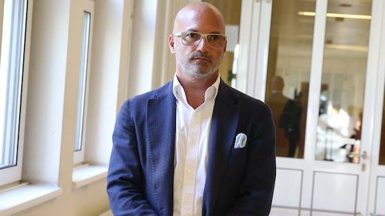 Anwalt Nikolaus Rast verteidigt in der Causa.