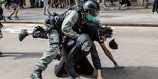 Erneute Eskalation bei Demos in Hongkong
