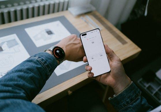 Einfache und unkomplizierte Verbindung zwischen Smartphone und Watch