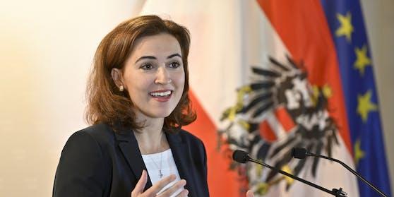 Justizministerin Alma Zadic (Die Grünen).