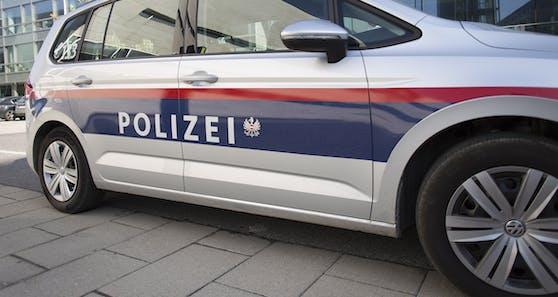 Ein Polizeiauto. Symbolbild