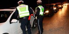 Drogen-Lenker verletzt bei Panik-Flucht Polizisten