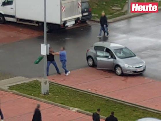 Der Streit eskalierte am Parkplatz.