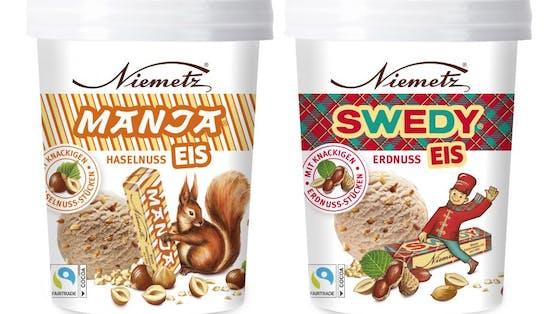 Manja und Swedi aus dem Hause Niemetz werden als Eis neu aufgelegt.
