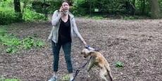 Video zeigt Hundebesitzerin bei rassistischer Attacke