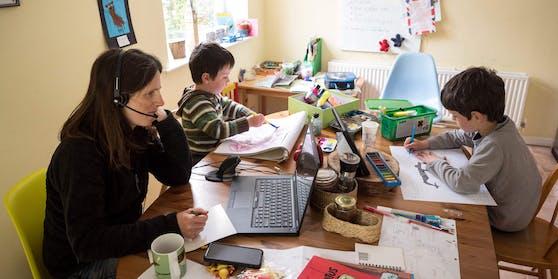 Für rund ein Drittel war das Homeschooling eine Belastung.