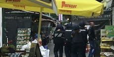 Wiener zielt auf Polizei, tanzt am Würstelstand