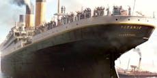 Titanic: Zum ersten Mal soll ein Objekt geborgen werden