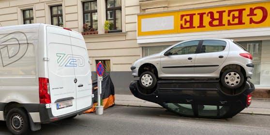 Das Fahrzeug wurde in der Gentzgasse (Währing) abgestellt.