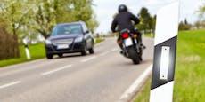 Drogen-Biker mit 175 km/h unterwegs