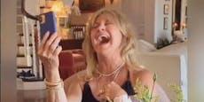 Dank Fans kann Goldie endlich wieder lachen