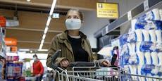 Jeder Zweite will Maskenpflicht im Supermarkt