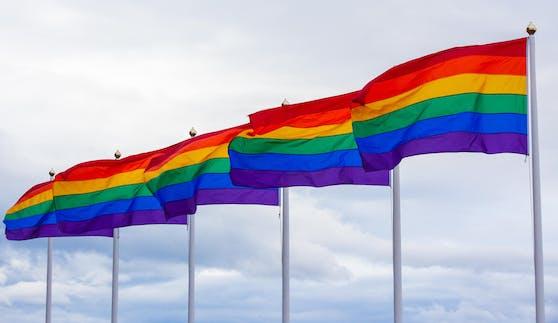 Wird es nicht an Ministerien geben: Regenbogen-Fahnen.