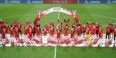 """5:0! Salzburg spaziert zum """"Corona-Pokal"""""""