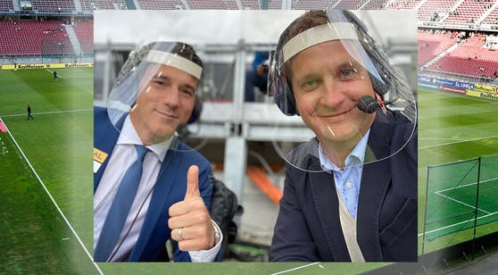 Oliver Polzer und Helge Payer