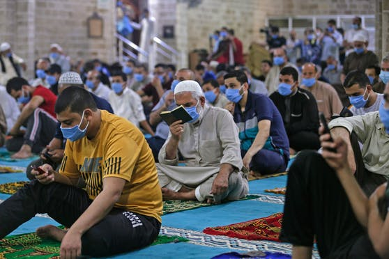 Muslime dürfen ab sofort wieder zum Freitagsgebet.