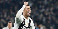 Geduldiger Ronaldo wartet 40 Minuten auf Tisch in Lokal