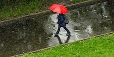 Regen kennzeichnete untypischen Juli