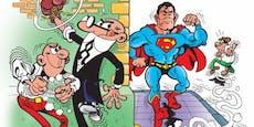 """80er-Revival: """"Clever & Smart"""" gegen Superman"""