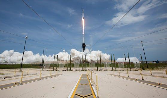 Am 15. September startet die SpaceX-Mission ins All, Netflix filmt mit.