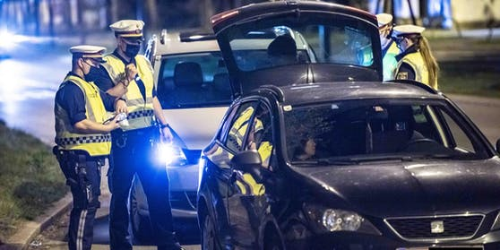 Die Polizei zog die jungen Raser aus dem Verkehr