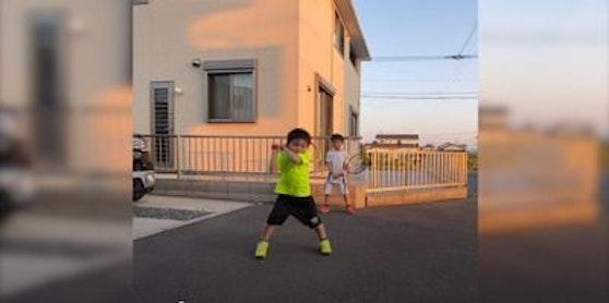 Japanische Tennis-Talente