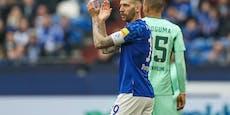 Für Schalke-Legionär Burgstaller ist die Saison vorbei