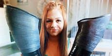 Beide Beine bei Unfall verloren: Angie wird TikTok-Star