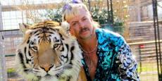 Netflix-Star spritzte Angestellten Tiger-Mittel