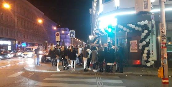 """Der Club """"Wien West Zone"""" öffnete am Freitag wieder seine Pforten. (Symbolfoto)"""