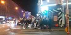 Corona-Razzia in Club Wien West Zone auf Balkan-Straße