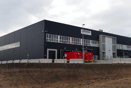 Das Amazon-Verteilzentrum in Großebersdorf.
