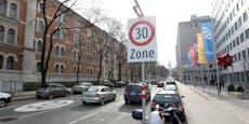 Ganze Fahrspur muss in Hörlgasse für Radweg weichen