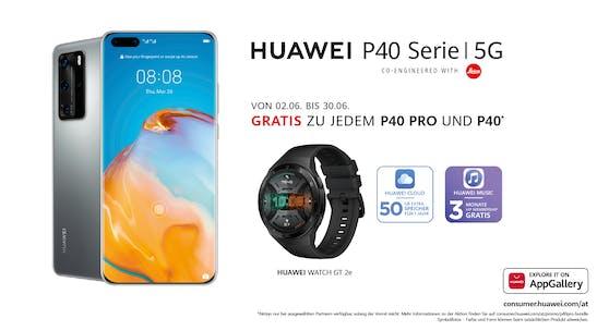 Zu jedem Huawei P40 pro & P40 gibt es bis Ende Juni weitere fantastische Assets dazu - kostenlos!