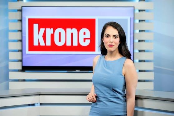"""""""Krone TV""""-Moderatorin Damita Pressl (27) wurde Opfer eines Übergriffs."""
