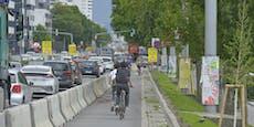 Trotz Grünen in Regierung fehlen Wien sichere Radwege