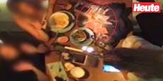 Video zeigt, wie Geister-Glas in Wiener Bar zerspringt