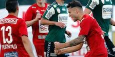 GAK stoppt mit 4:2-Erfolg die Rieder Unbesiegt-Serie