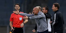 "Nach ""Eier""-Ausraster: Sturm-Coach El Maestro gesperrt"